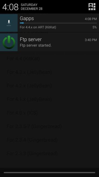 gapps screen shot 2