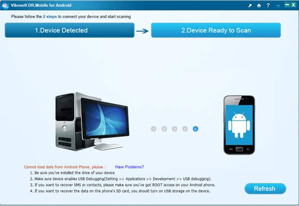 dr-mobile-for-android-detect