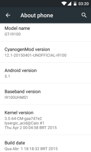 Update Samsung Galaxy S II to Android 5.1.1 Lollipop