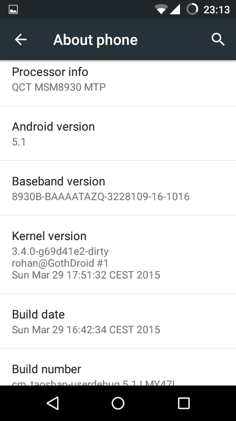 Update Sony Xperia L to Android 5.1.1 Lollipop