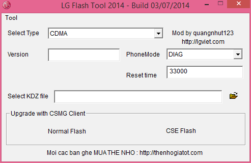 How to Unbrick LG L Fino using stock firmware
