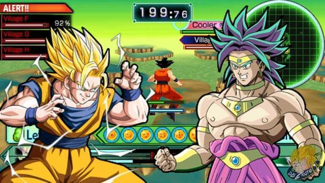 Dragon Ball Z games on PSP