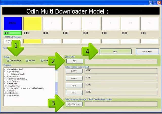 ODIN Multi Downloader for All Samsung Galaxy Type