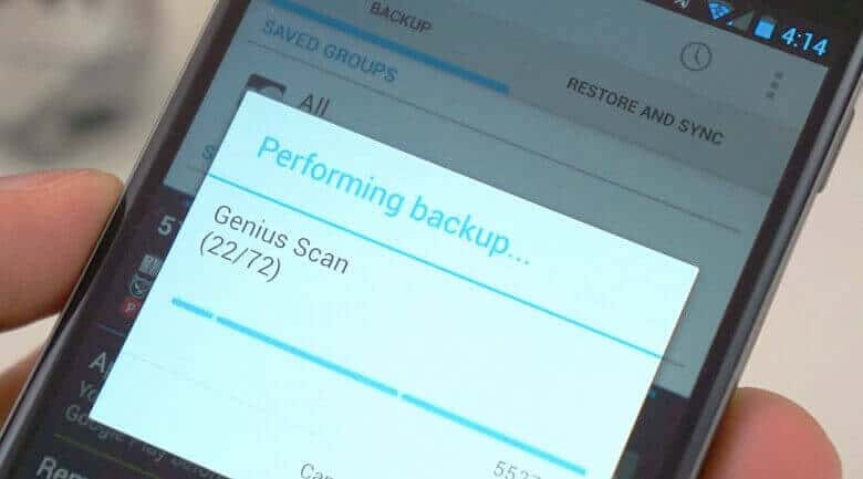 Complete Backup Solution For Android Devices