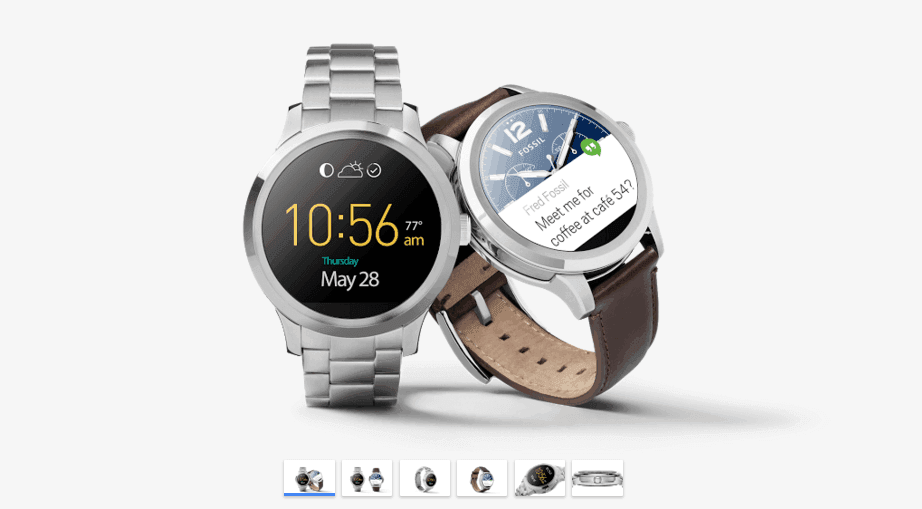Photo of Fossil Q Founder is now on Google Store and will be on sale soon!