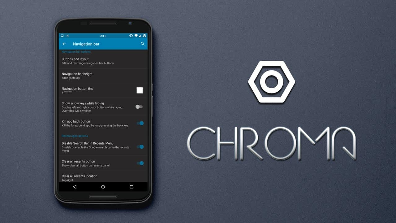Chroma Rom for Nexus 5X