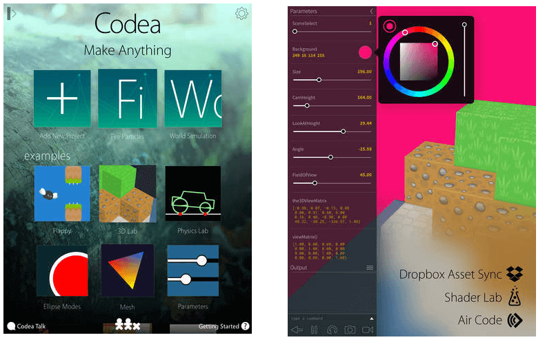 Codea Programming Applications for your Ipad