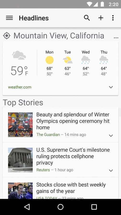 Google_news_Weather