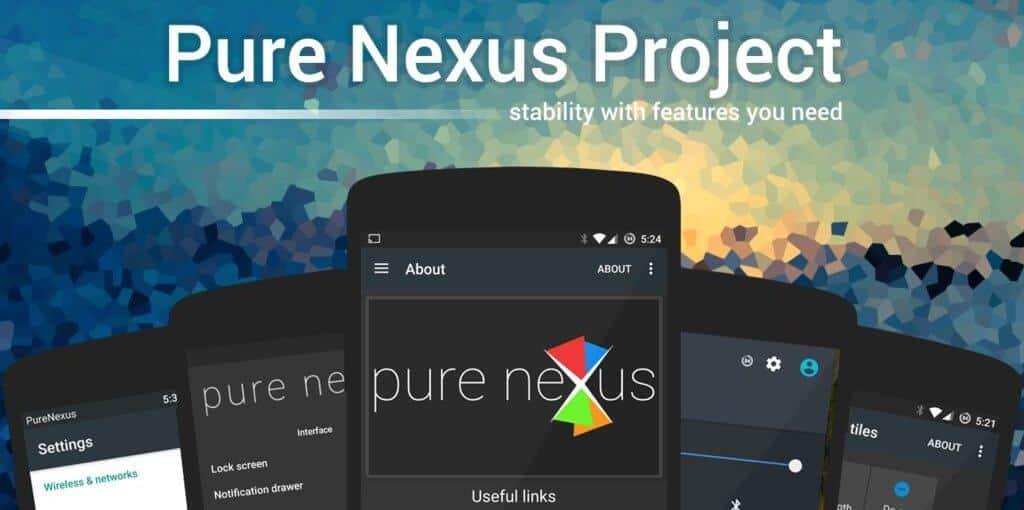 Pure Nexus Rom for Nexus 5X