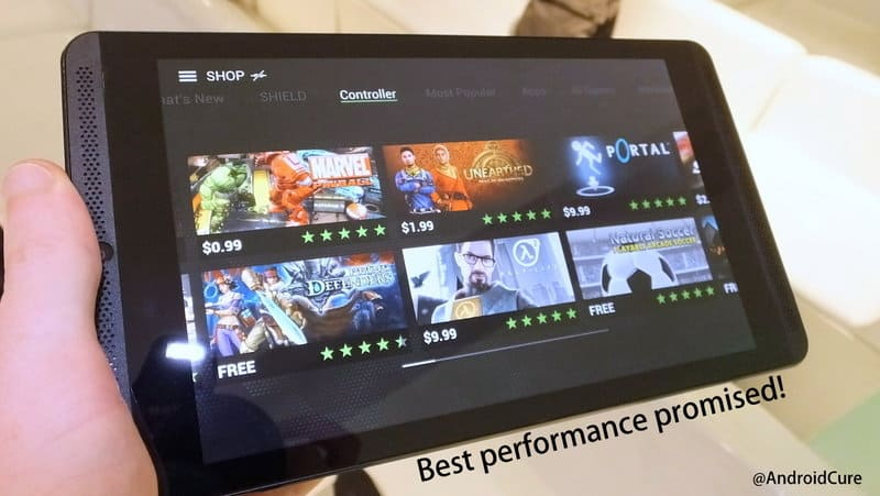 improve performance of Nvidia Shield Tablet