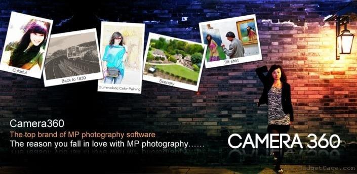 Camera360 Application