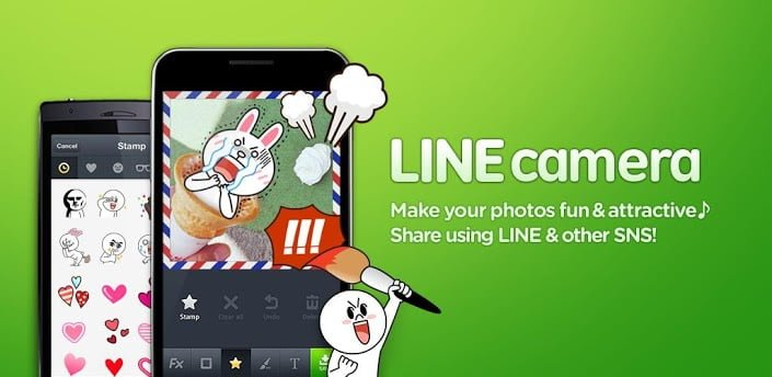 line camera android