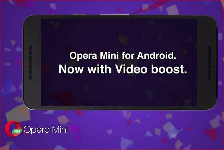 video boost on Opera Mini Android