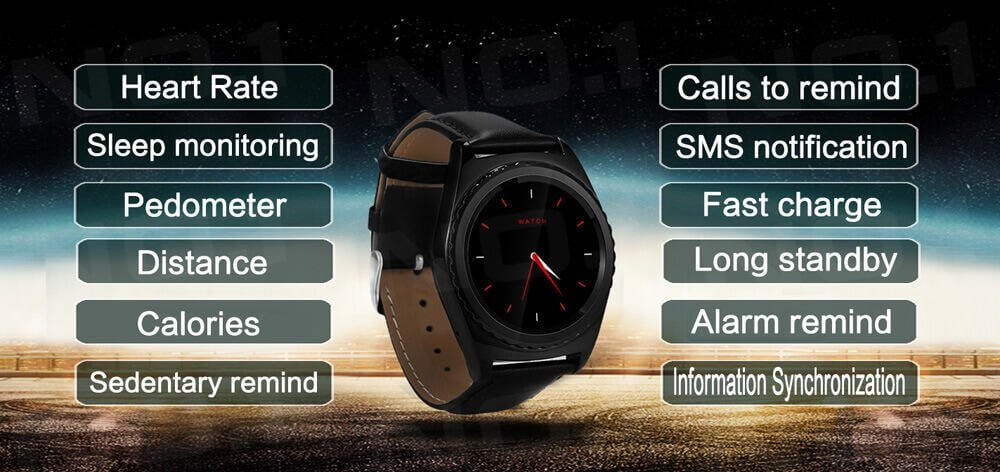 NO.1 S5 Smart Watch Review