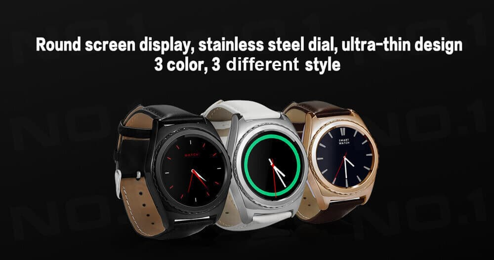 NO.1 S5 Smart Watch available in different colors