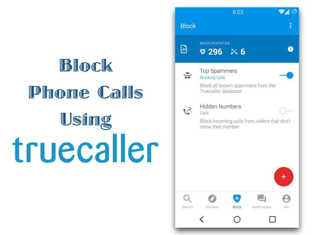 TrueCaller Call Blocker
