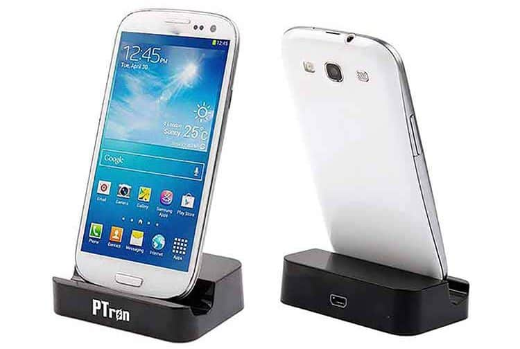 PTron Docking Station Charger for Samsung Galaxy J7