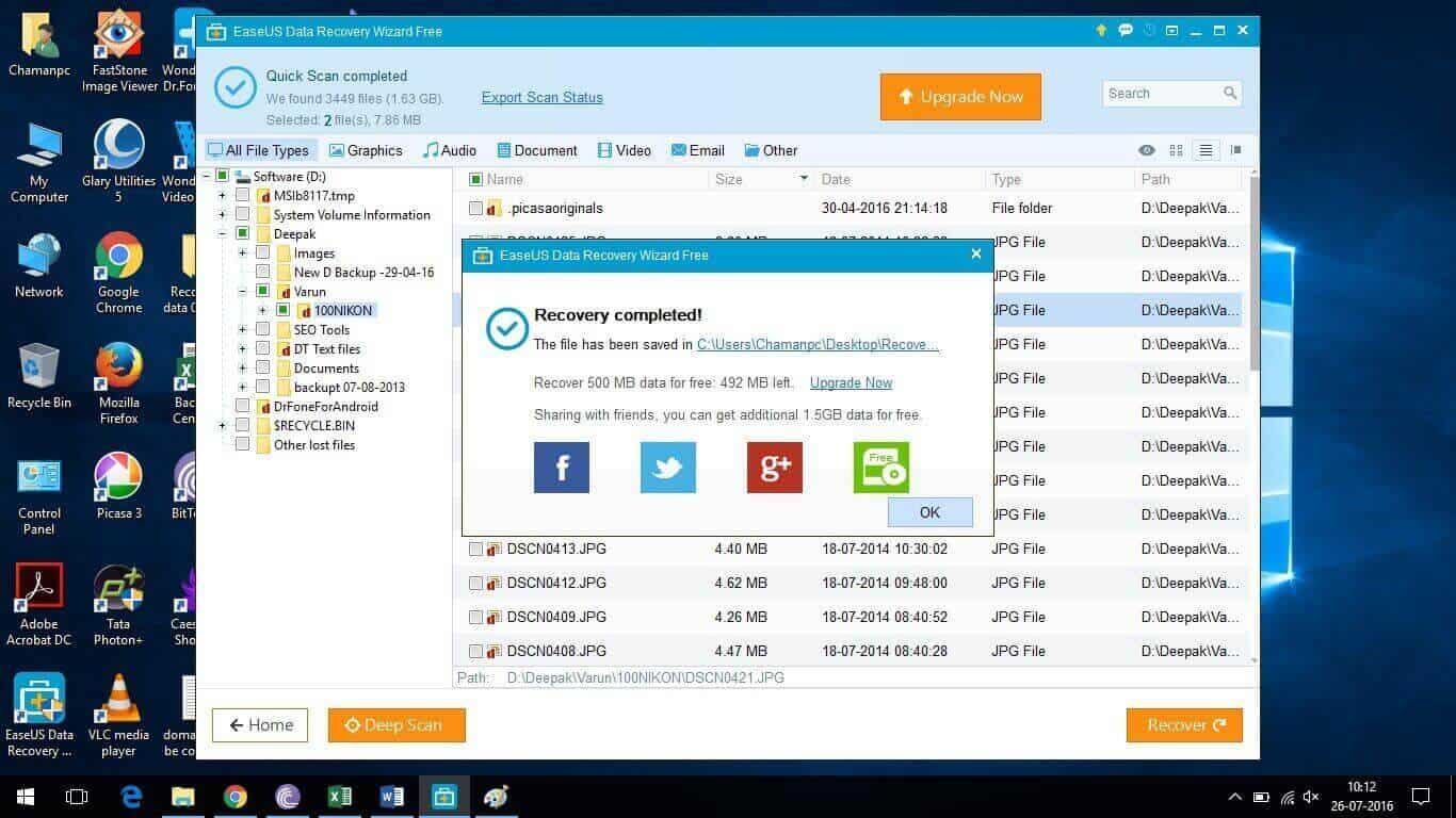 Photo of EaseUS Data Recovery Wizard Free Review