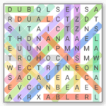 word search Android game