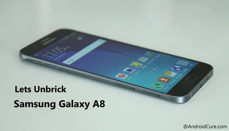 Unbrick Samsung Galaxy A8 using stock firmware