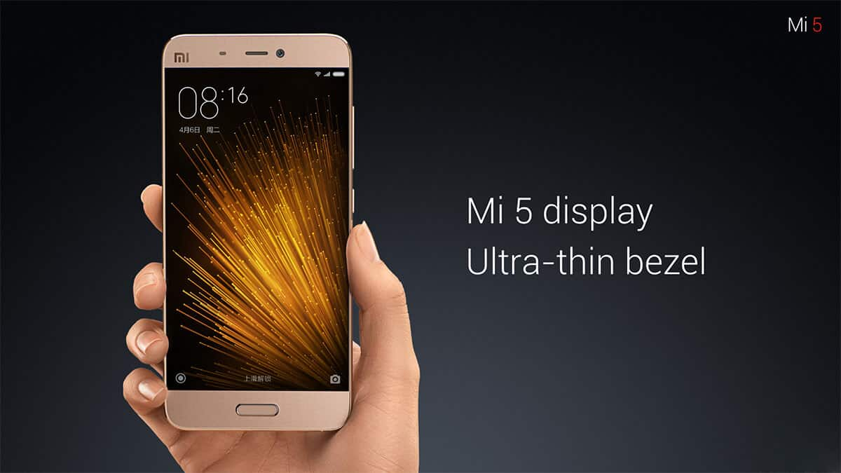 Mi 5 smartphone on sale