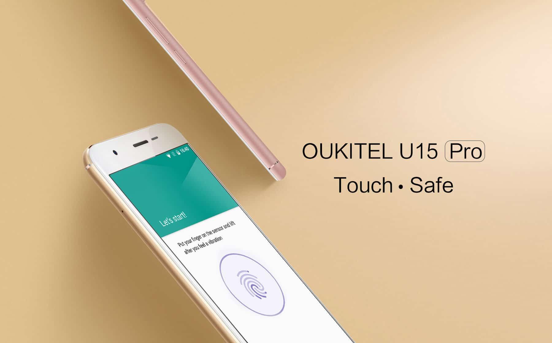 Oukitel U15 Pro 4G Phablet flash sale