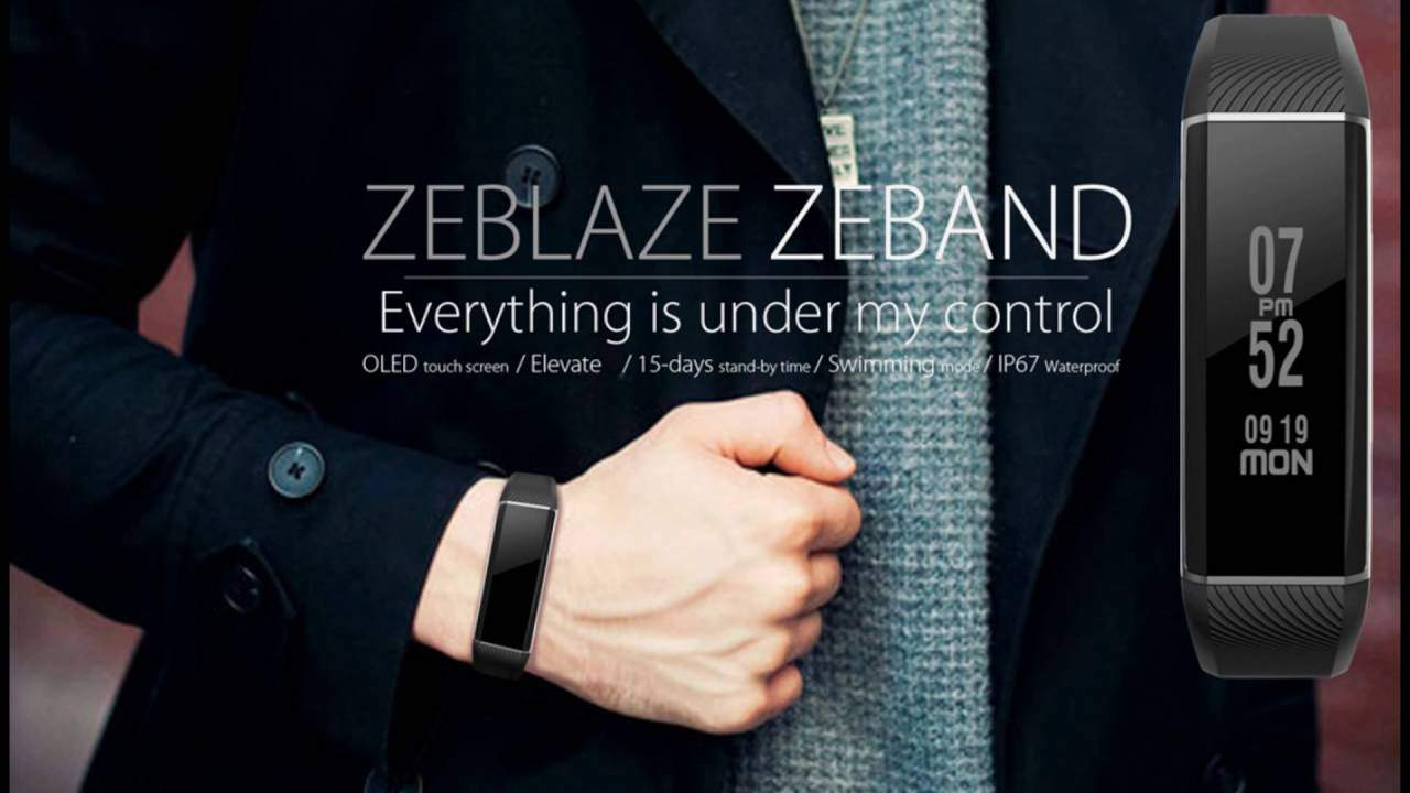 ZeBand BLE 4.0 Heart Rate Monitor Smart Wristband Pre-bookings