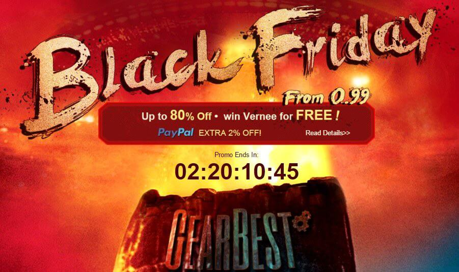 Photo of GearBest Black Friday Sale is live: Get up to 80% off on Electronics