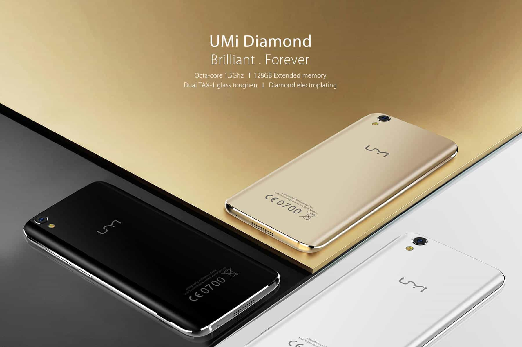 Photo of UMi Diamond 4G Smartphone Gets on Sale for $99.99 at GearBest