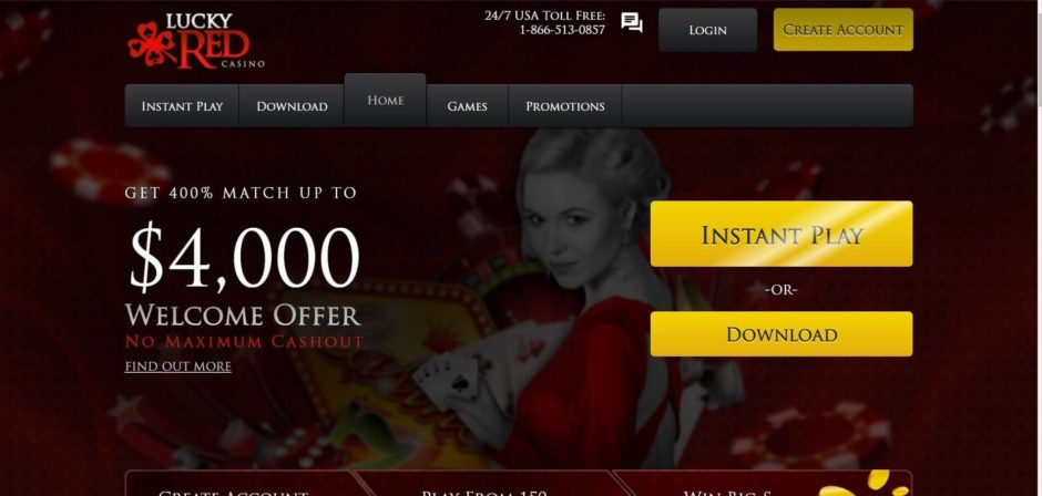 Online Slots Lucky Red Casino