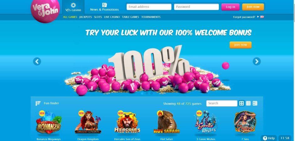 Play casino online Vera John