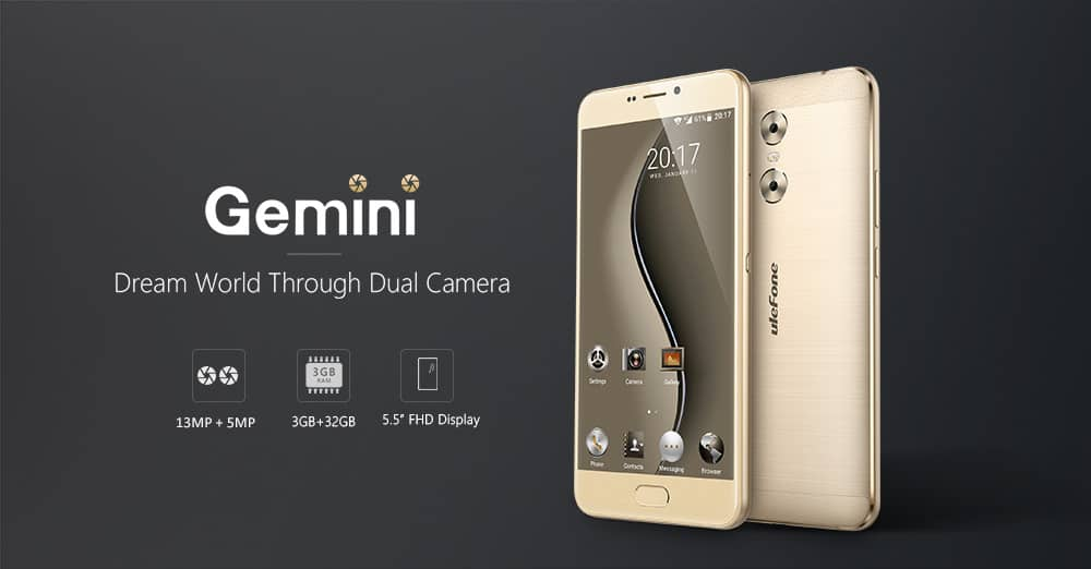 Photo of Ulefone Gemini 4G Phablet Gets on Flash Sale for $129.99