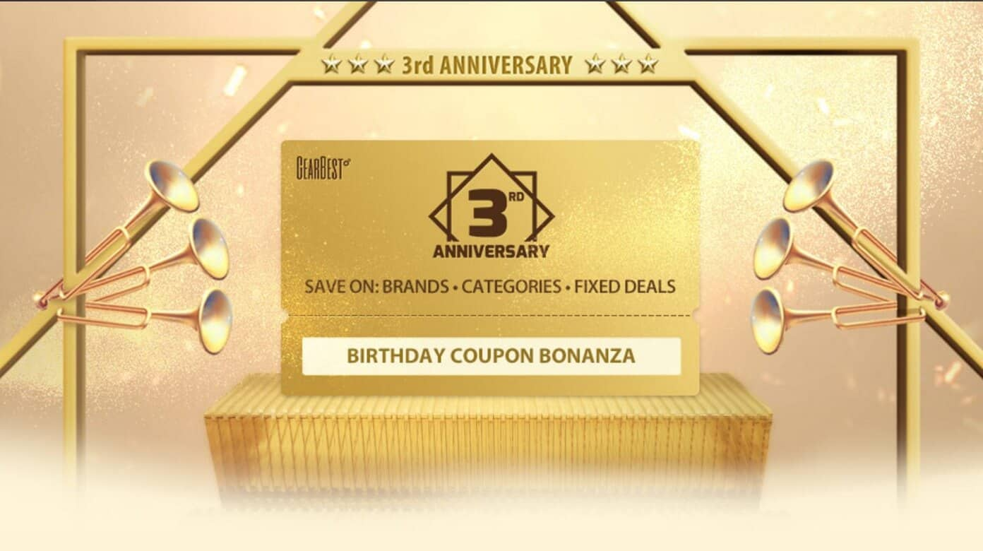 The Gearbest free coupons and online coupons website