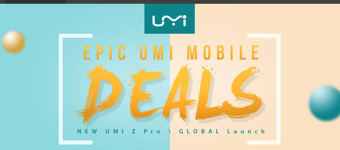 Photo of UMI Greatest Sale – Save up 30% on UMI Smartphones at GearBest