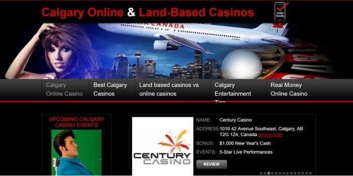 Calgary Online Casino review