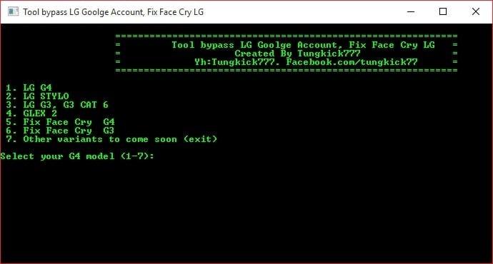 lg bypass tool tutorial