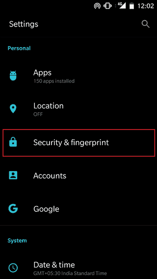 App_lock-Oneplus_Security_Settings