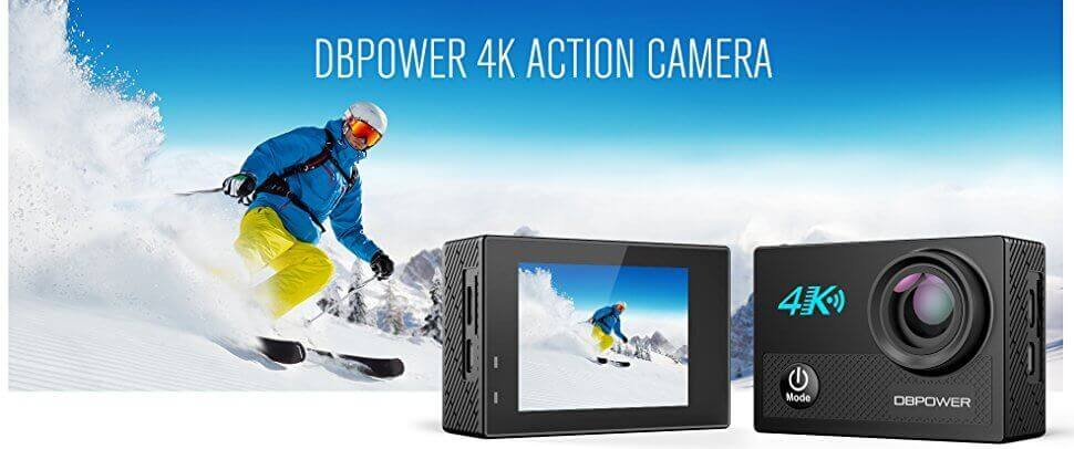 Photo of DBPOWER N5 4K Is Budget-Friendly Waterproof HD Action Camera