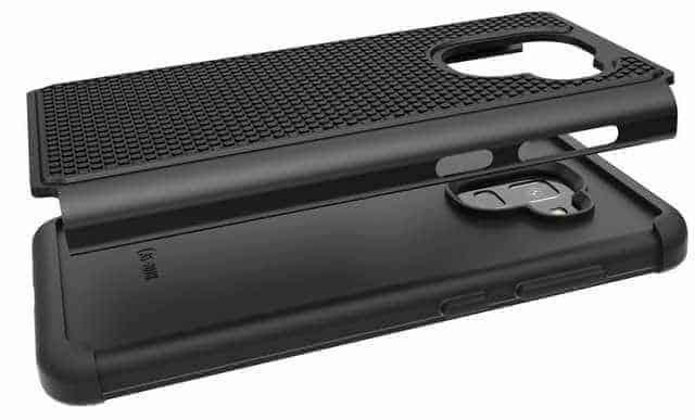 OUBA protective case Galaxy A8 2018