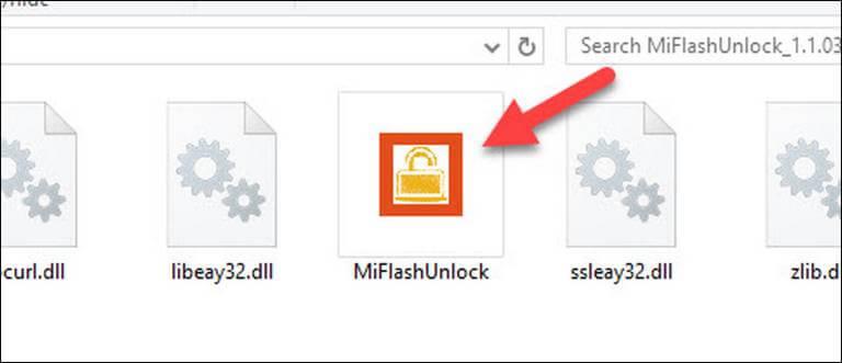 run xiaomi mi flash unlock tool