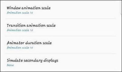 limit animations galaxy j7 duo