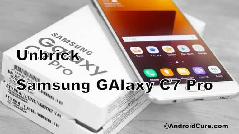 Photo of How to Unbrick Samsung Galaxy C7 Pro with stock firmware