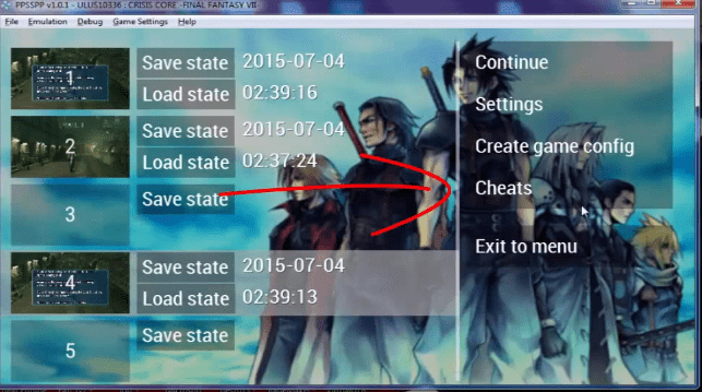 PPSSPP Cheats - Easy Step by Step Guide [Picture+Video]