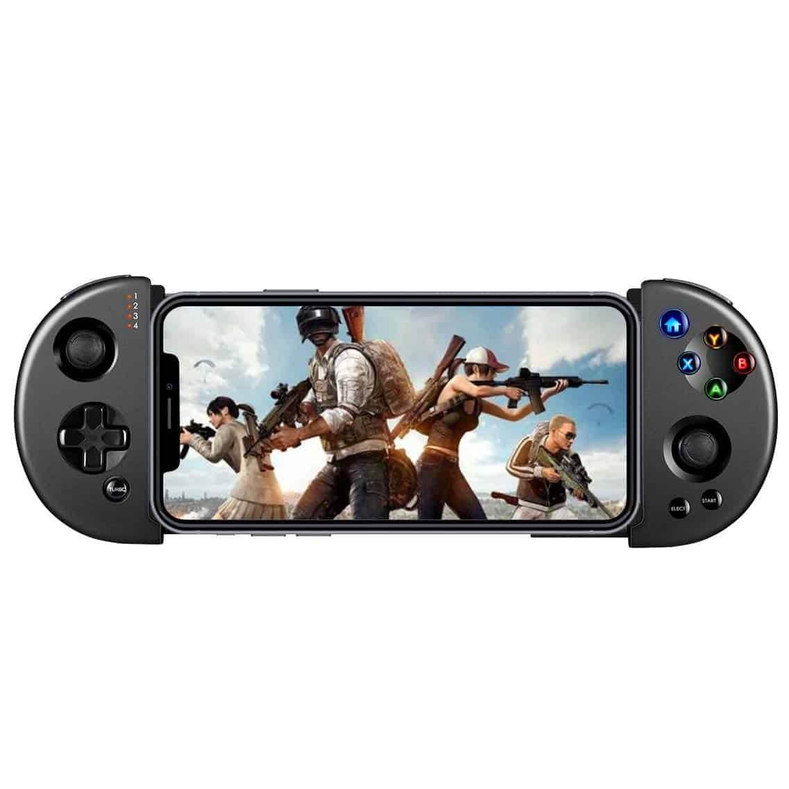Wireless Android Game Controller, Retractable Telescopic Shock Connecting Joystick Gamepad Android Phone