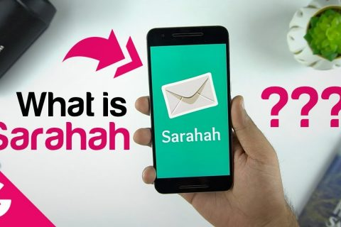 What is Sarahah?