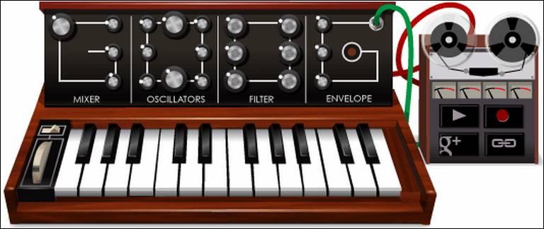 Google Doodle Synthesizer