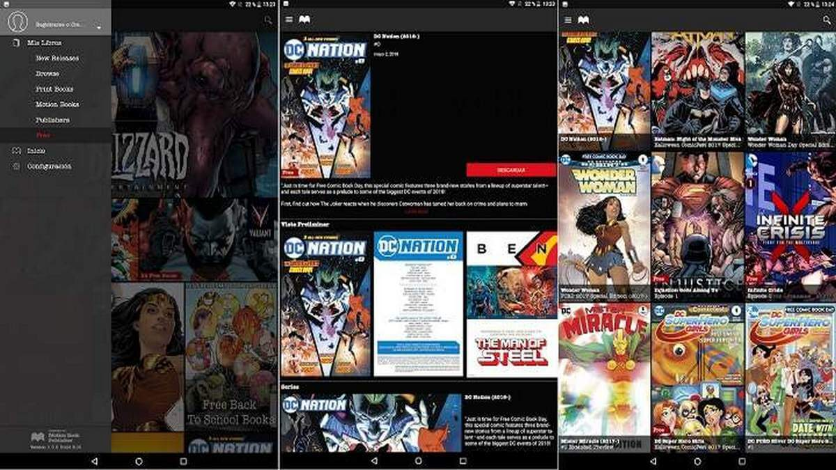Madefire Comics Android app