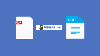 PDFBear: A Simple Guide to Quickly Convert PDF to Other File Formats