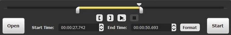 Joyoshare Media Cutter Main Screen