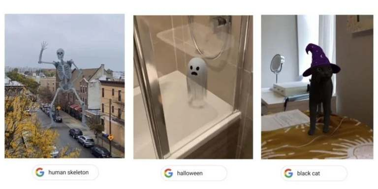 Watch a ghost in augmented reality on Google